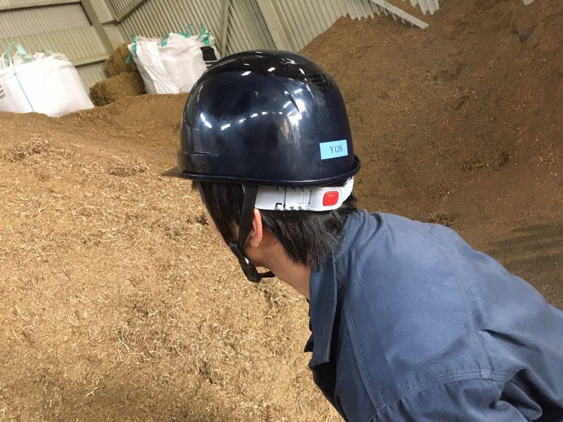 転ばぬ先のヘルメット
